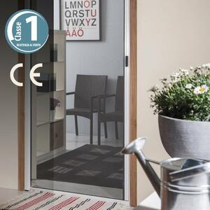 Zanzariera A Rullo Per Porta 160x250 Colore Bronzo Verdelook