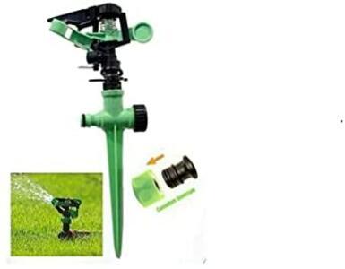 Irrigatore a settore con Puntale Rotante Pioggia in Plastica Giardino Prato Erba Irrigazione