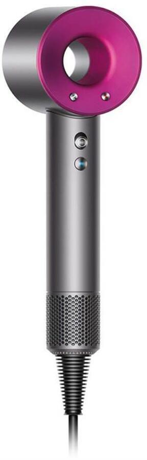 DYSON ASCIUGACAPELLI HD01 SUPERSONIC HAIR DRYER 1600W IRON/FUCHSIA
