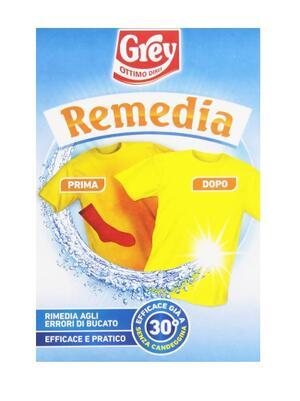 Grey - Remedia OK, Trattamento per rimediare agli errori di bucato - 200 g