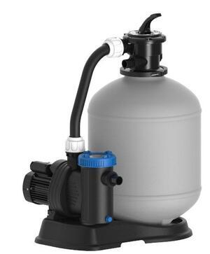 Pompa a sabbia BWT SHOTT NEW PLAST  TECHNYPOOLS da 10.000 m3 / 85 lt Sistema per filtrazione piscina Pompa a sabbia per piscina professionale made in italy PPF85
