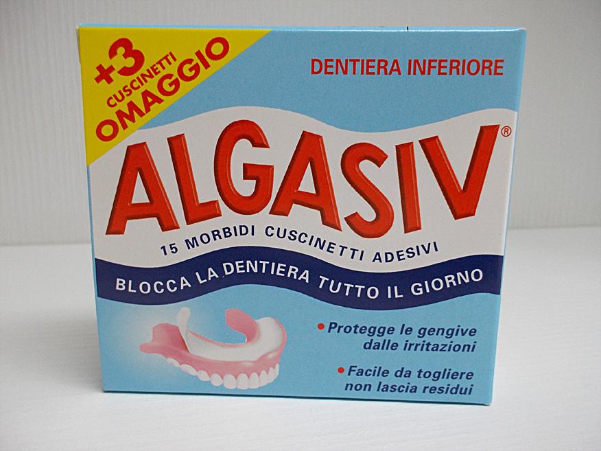 ALGASIV Cuscinetti Adesivi per protesi INFERIORE