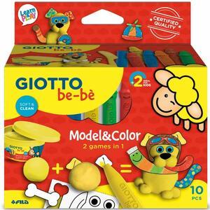 """MODEL & COLOR 2 GIOCHI IN 1 """"CAGNOLINO"""" GIOTTO BE-BE' FILA"""