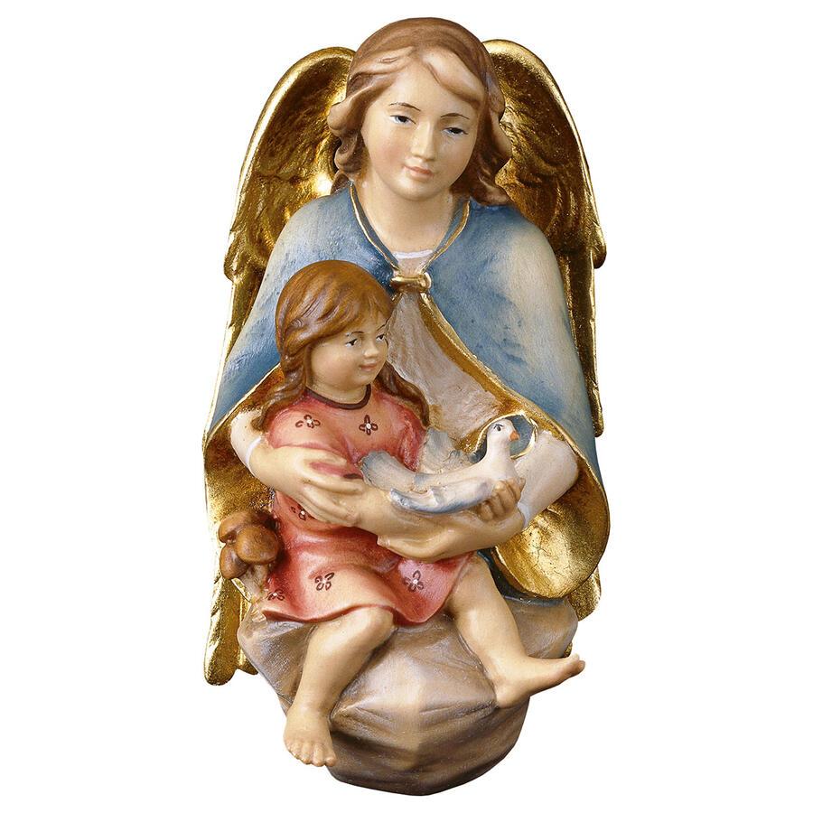 Angelo protettore con bambina