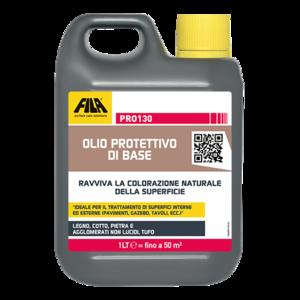 FILA PRO130 - Olio protettivo impregnante a base di oli vegetali 5 LT