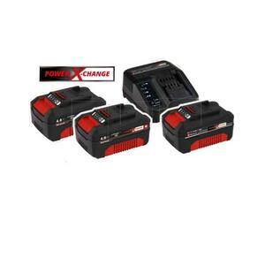 Kit 3 Batterie 18 V + Caricabatterie Einhell