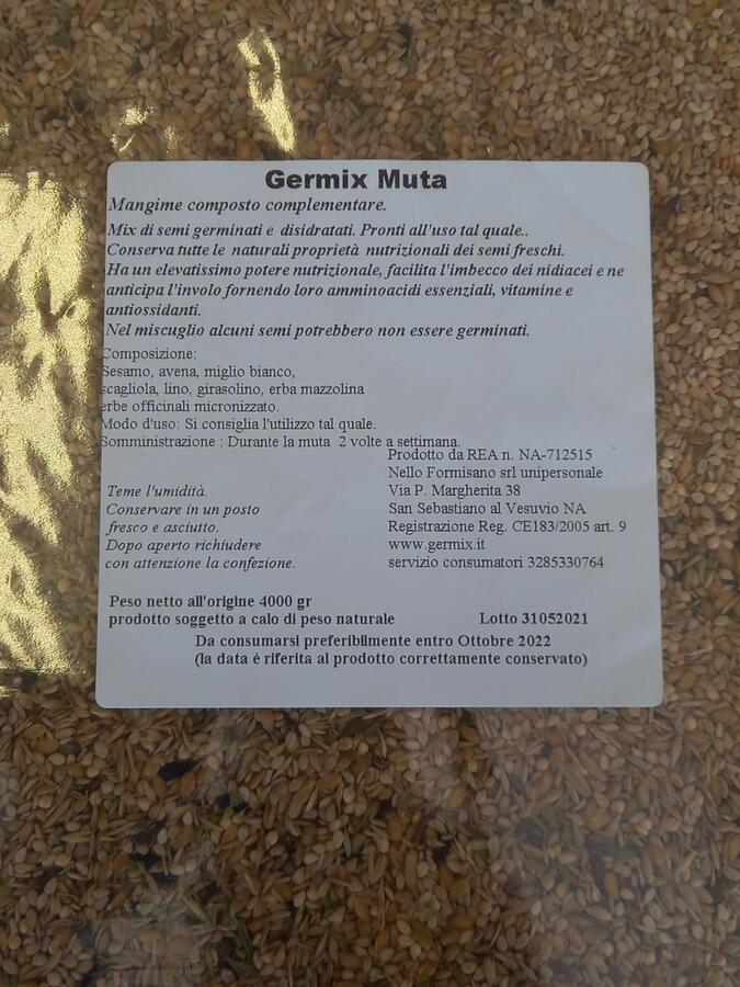 Germix Muta (formula unica) 4 kg