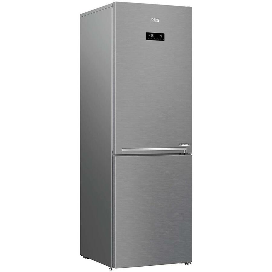 BEKO Frigorifero Combinato RCNA366E60XBN Total No Frost Pro Smart Classe C Capacità Lorda / Netta 348/324 Litri Colore Metallo
