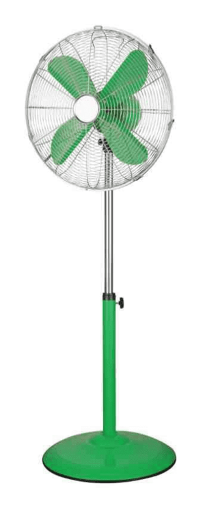 Ventilatore con piantana 40 cm Verde