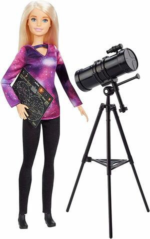 Barbie Astrofisica con telescopio - Mattel GDM47 - 3+