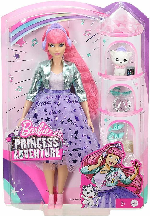 Barbie Abito fa Principessa e accessori - Mattel GML77 - 3+