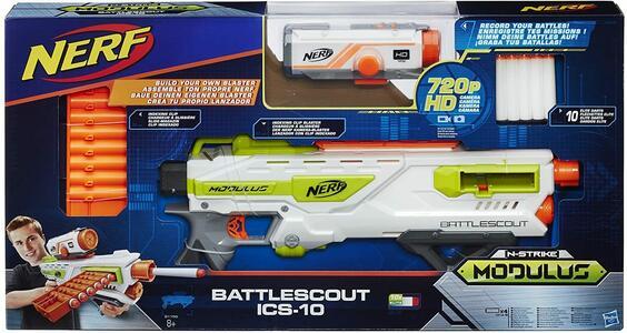Nerf N-Strike Modulus Battlescout ISC-10 - Hasbro B1756 - 8+