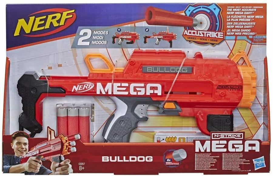 Nerf N-Strike Mega Bulldog - Hasbro E3057 - 8+