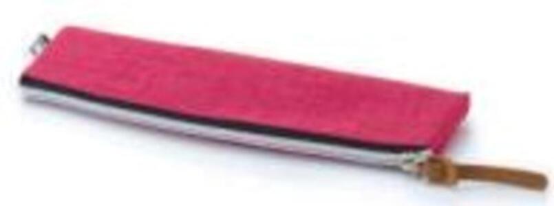 BUSTINA PORTAPENNE PIATTO 21,5 X 6 CM ROSSO BALMAR