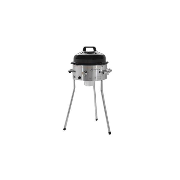 Barbecue grill a gas BST SOMBRERO MOVIDA acciaio pietra fornello con coperchio