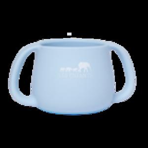 Tazza in silicone - azzurro