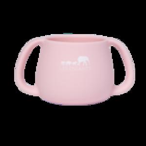 Tazza in silicone - rosa