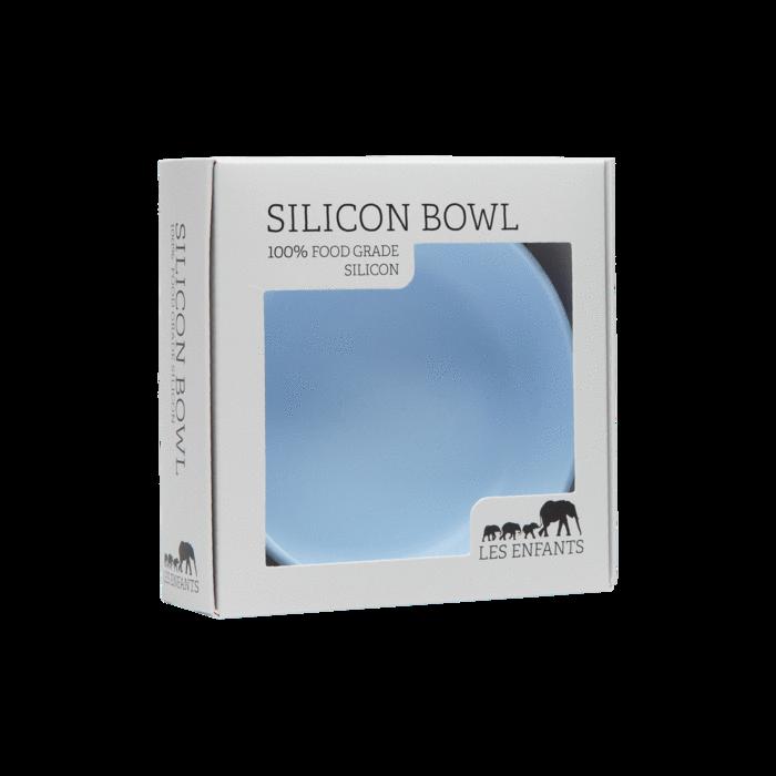 Ciotola in silicone - azzurro