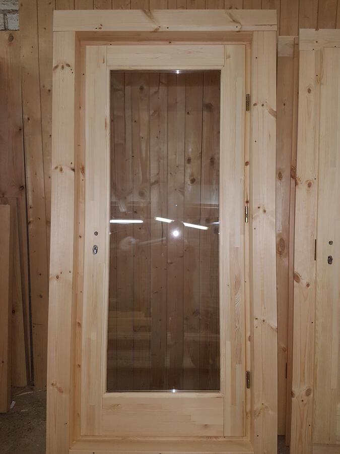 Casetta in legno 5,00 m x 4,00 m - Mod. Zoe  - 44 mm