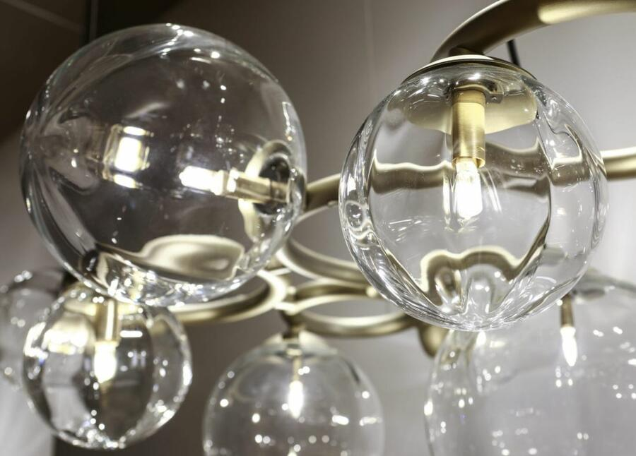 Lampada a Sospensione PUPPET RING in Cristallo di Vetreria Vistosi, Varie Misure e Finiture - Offerta di Mondo Luce 24