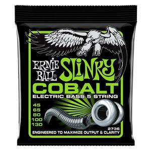 ERNIE BALL - 2736 BASS 5 SLINKY COBALT 45-130