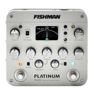 FISHMAN - PLATINUM PRO EQ/DI ANALOG PREAMP