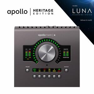 Universal Audio - Apollo Twin X Quad | Heritage Edition