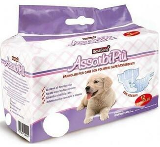 12 Pannolini  XL a Mutandina Per Cani Maschio Femmina Pannoloni