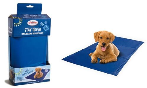 Tappetino Rinfrescante Materassino Refrigerante Per Cani Gatti 50x90cm Cuccia