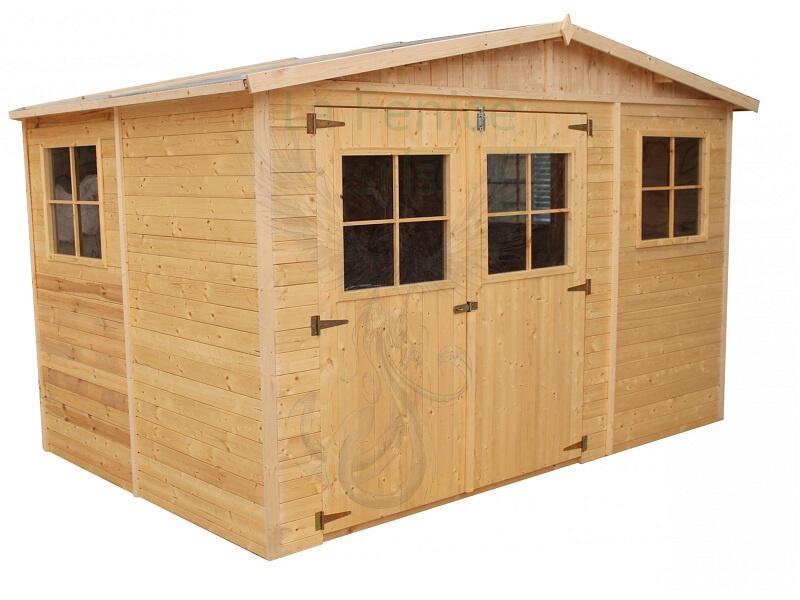 Casetta in legno a pannelli 3,00 m x 2,00 m - Incluso Trasporto guaina e Impregnante