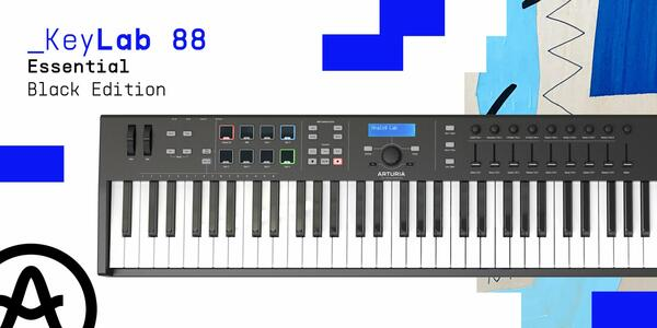 Arturia KeyLab Essential 88 Black Edition