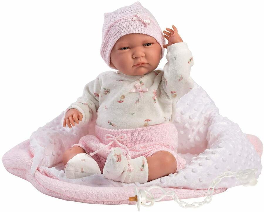 Bambola New Born Lala 40 cm - LLorens 74076 - 3+