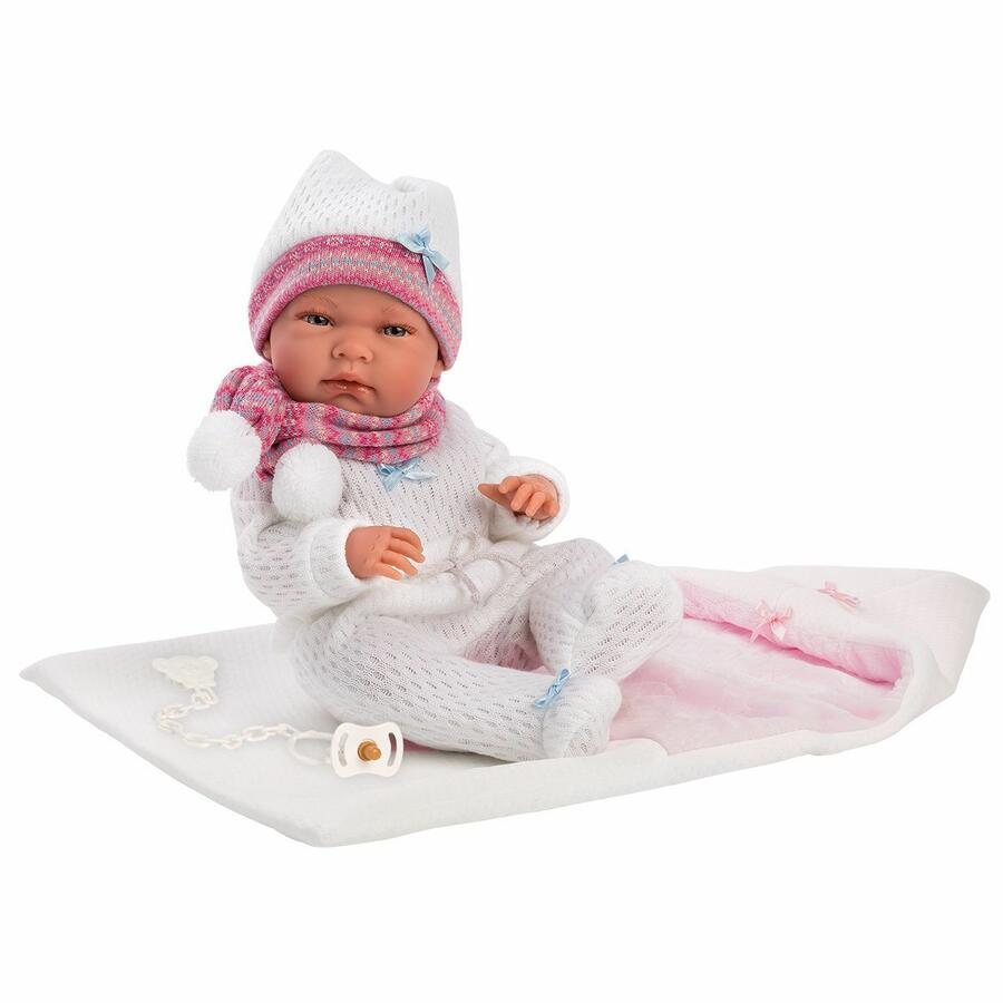 Bambola Newborn Nica 40 cm - Llorens 73868 - 3+