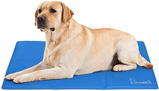 Tappetino Rinfrescante Materassino Refrigerante Per Cani Gatti 80x90cm Cuccia