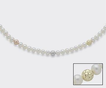 Filo perle in Oro 18k Mikiko