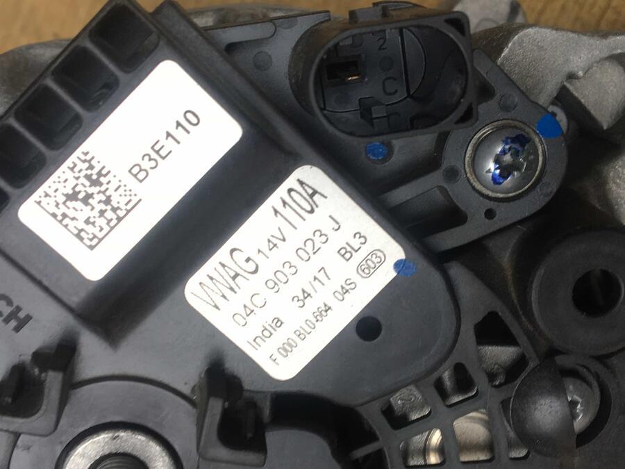 Alternatore Volkswagen Polo Bosch - 04C903023J