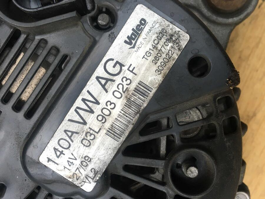 Alternatore Audi Q3 Valeo - 03L903023F