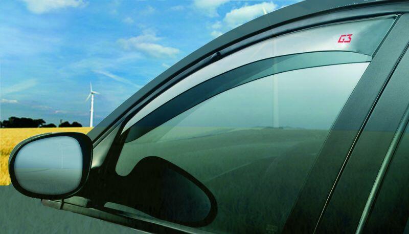 Deflettori Aria Fiat Qubo (No rails, Barra anteriore-centrale-posteriore) PORTE 3 2008 in poi