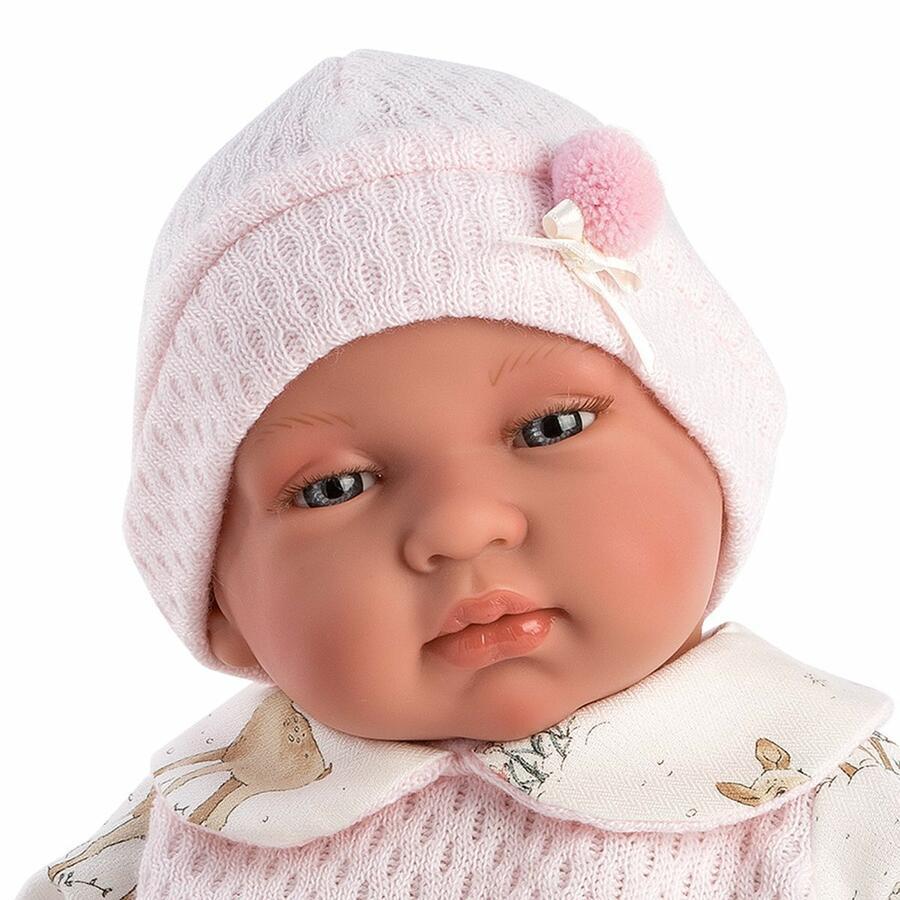 Tina che piange bambola 44 cm - Llorens 84434 - 3+