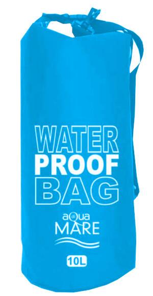 Borsa waterproof 10 Litri color turchese - Aqua di mare 22357