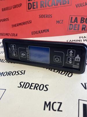 TASTIERA/DISPLAY LCD STUFE LAMINOX
