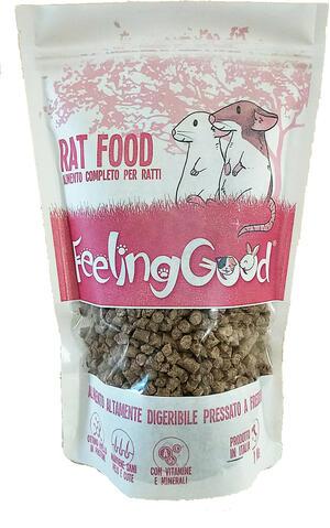Feeling Good Rat Food – Alimento Completo per Ratti - 1 kg.