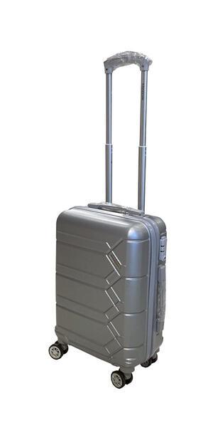 Trolley in ABS 55cm Silver con serratura TSA - Ravizzoni RA-MI482S