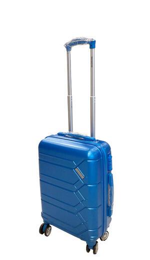 Trolley in ABS 55cm Azzurro con serratura TSA - Ravizzoni RA-MI482A