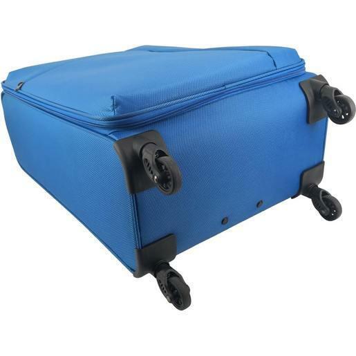 Trolley cabina morbido Joy Blu  35.5 x 22 x 53 cm - Le Cose 2006