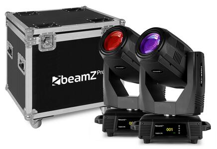 Beamz Pro - TIGER 17R BEAM/SPOT 350W  2 Pezzi IN FLIGHTCASE