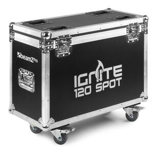 Beamz Pro -  FC120 FLIGHTCASE per 2 pezzi IGNITE120