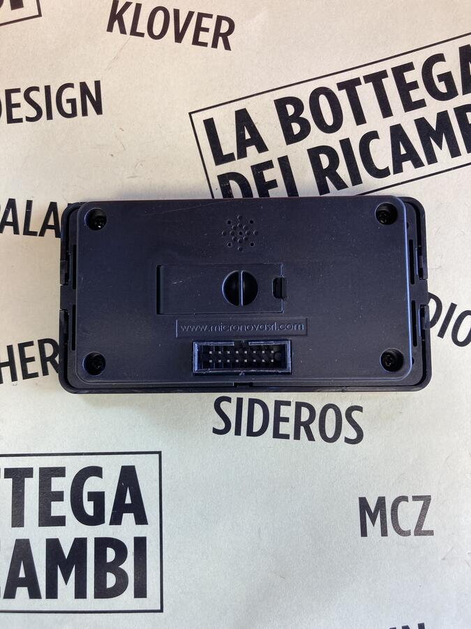 TASTIERA/DISPLAY LCD Q007 MICRONOVA STUFE TEPOR