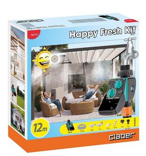 Happy Fresh Kit Irrigazione Claber