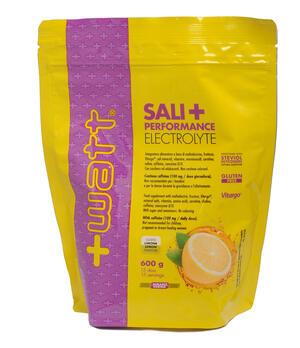 PERFORMANCE SALI + - Busta da 600 g al gusto di LIMONE di carboidrati, vitamine, sali minerali, aminoacidi, caffeina, carnitina.